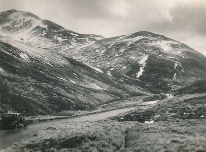 Glen Beag near the Devils Elbow