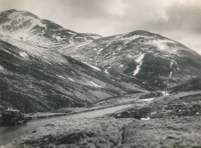 Glen Beag near the Devils Elbow