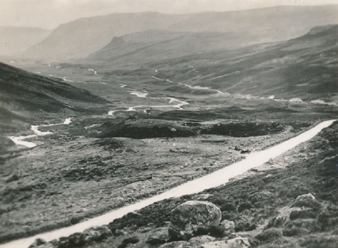 Looking down Glenshee from near the Devils Elbow