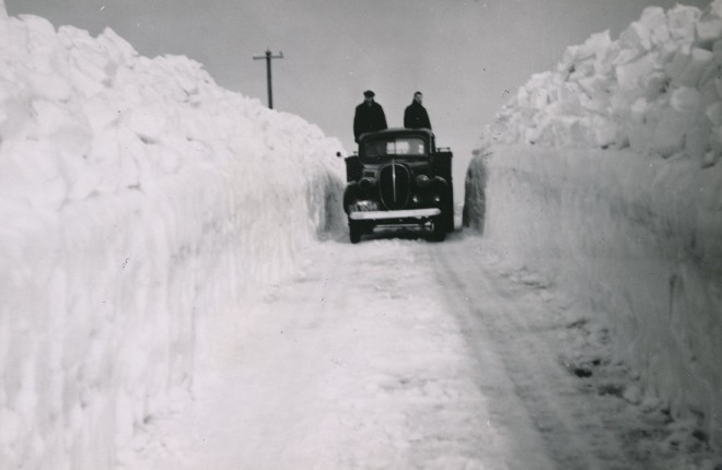 The cleared road