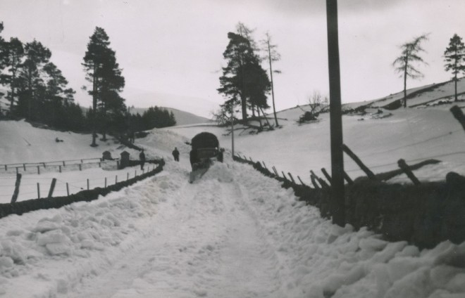 Snow Clearing in Glenshee
