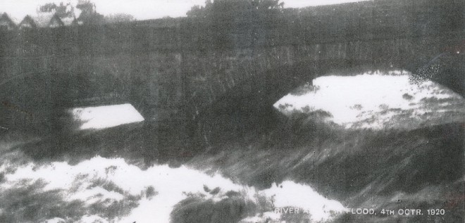 Record Level of the Ardle October 4th 1920