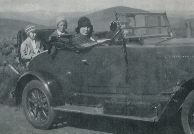 Early lady driver