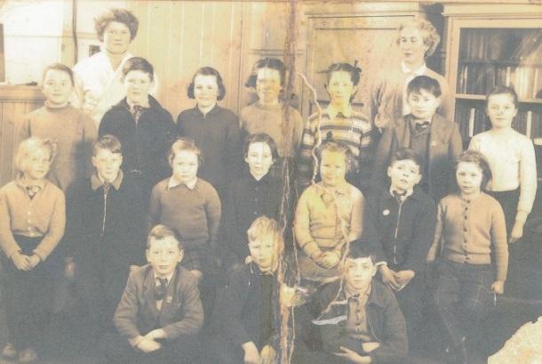 Pupils of Blackwater School 1955