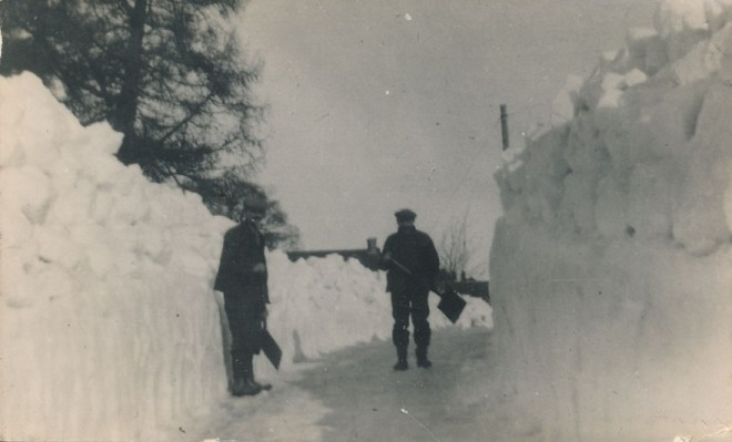 Many people talk about how much snow there was in the past......