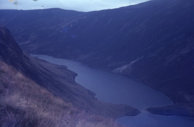 Loch Loch 1967 where the Hercules wreckage was found