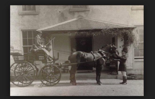 The Constable  carriage outsidea Balmyle