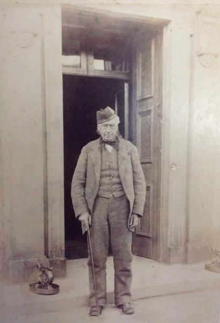 Patrick Keir (09/05/1810 - 29/11/1889) at Kindrogan 1885