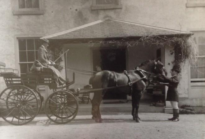 Outside Balmyle 1800's