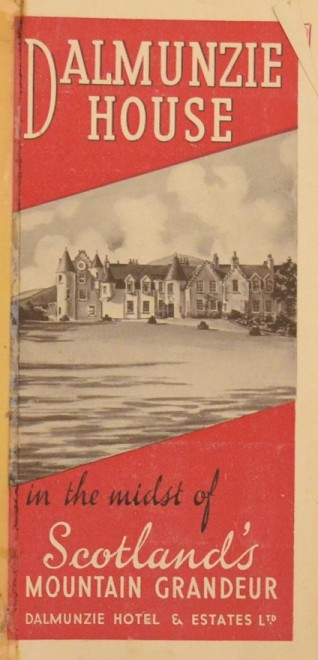 Early Dalmunzie brochure