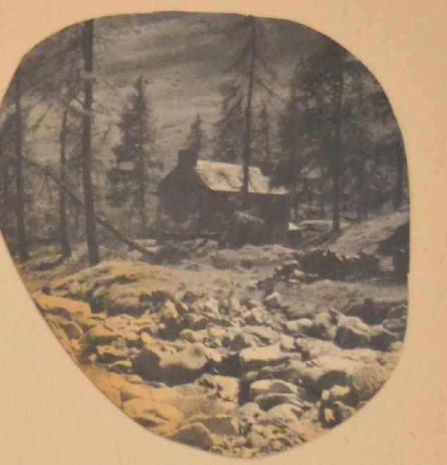 Glenlochsie Lodge when it was still standing.