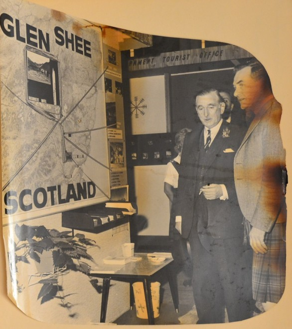 The only Scottish Exhibit at the first ski exhibition Alexandra Palace 1962