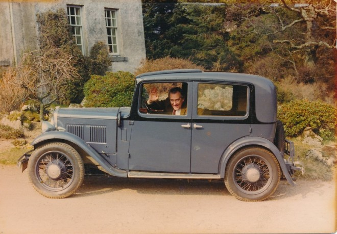 Dennis Winton's car, Dalmunzie.
