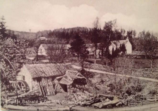 Middle Balnald and Mill