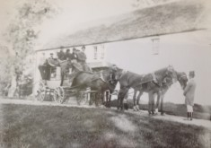 The stagecoach bus