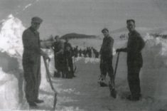 Snowclearing 1947