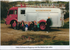 Nursery Visit to Fire Station