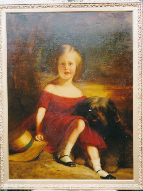 Jane Keir as a young girl