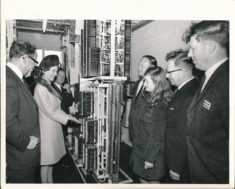 Opening of Telephone Exchange