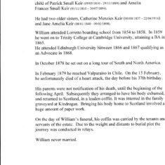 William Augustus Keir- about him