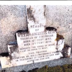 William Augustus Keir's Grave