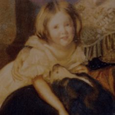Catherine Keir as a child