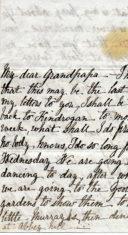 Jane Keir letter 2 to Grandpapa