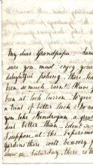 Jane Keir Letter 3 to Grandpapa