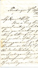 From Grandpapa letter 2 to William Keir 9th April 1859