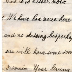 William Keir's Christmas Thank You Letters from his nephews Frank and Willy Balfour 1st January 1878