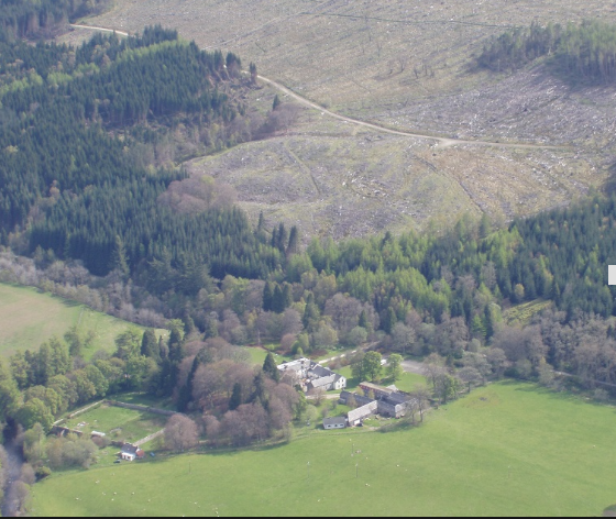 Kindrogan from the Air