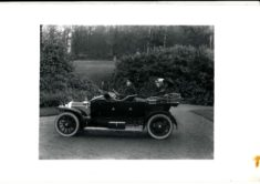 The Constable Ladies out for a drive in the Argyll car. The chauffeur is Mr Rattary.
