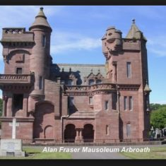 Alan Fraser Mausoleum Arbroath
