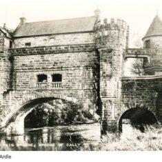 Bridge house over ardle postcard