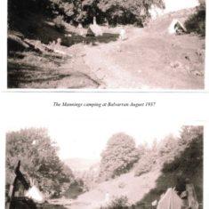 John Manning's Parents Holiday at Balvarran in 1937