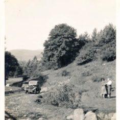 John Mannings Parents Camping at Balvarran1937