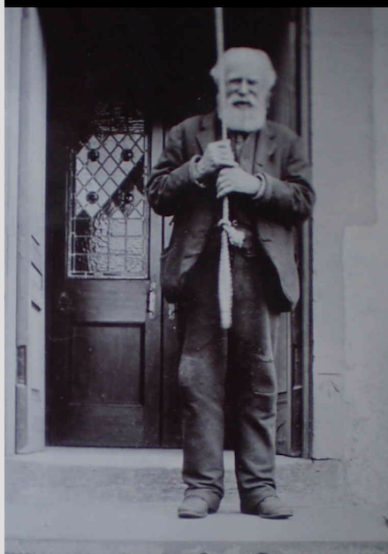 Donald McIntosh bell ringer at Kirkmichael Church & Poet