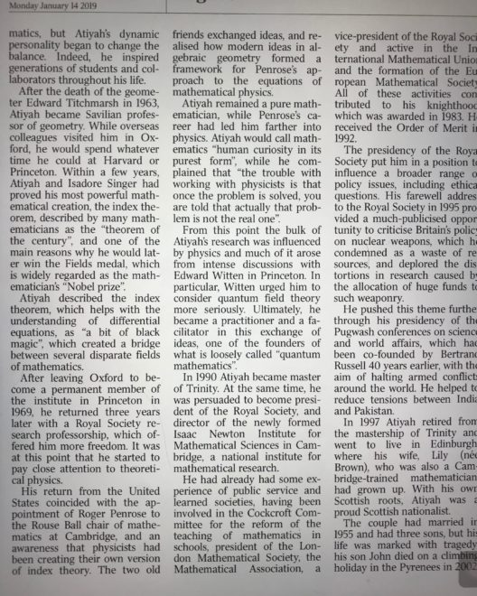 The Times Obituary page 3