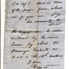 Pacific Steamer co to P Keir 10 Oct 1878 page 2